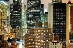 E 34th St. and North at Night, New York City (andrew c mace) Tags: above nyc newyorkcity longexposure roof urban newyork rooftop skyline night cityscape manhattan 34thstreet aerial midtown murrayhill metlifebuilding kipsbay citigroupcenter colorefex nikoncapturenx nikkor35mm nikond90