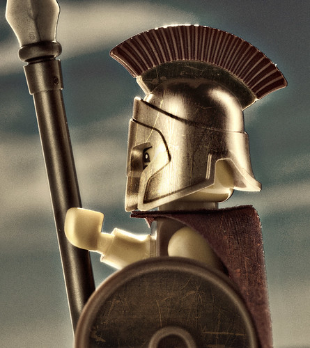 Custom minifig Spartan
