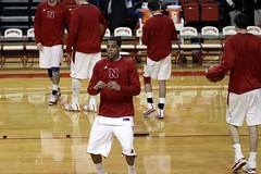 Nebraska Kansas 2011 103 (nebugeater) Tags: basketball nebraska mens lincoln kansas huskers jayhawks devaney cornhuskers
