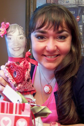 nat with sandys doll