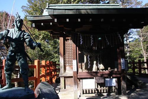 宮本武蔵 / Miyamoto Musashi, Hachidai-jinja Shrine