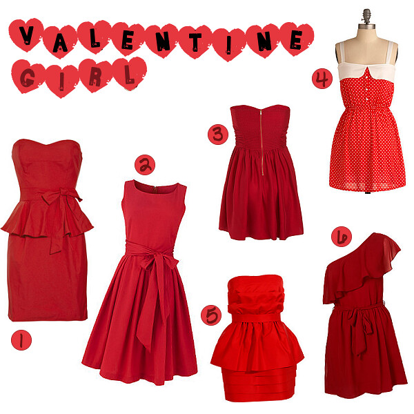 pretty little valentines day dresses