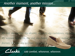 "Clarks Shoes Ad Campaign - another moment • <a style=""font-size:0.8em;"" href=""http://www.flickr.com/photos/10555280@N08/5428262993/"" target=""_blank"">View on Flickr</a>"