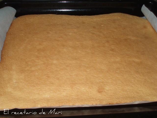 bizcocho ligero (cocido)