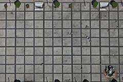 Square (Aerial Photography) Tags: people lines by bayern platz brunnen pedestrian bamberg aerial menschen walker ba deu settlement luftbild maximiliansplatz luftaufnahme linien deutschlandgermany siedlung quadrate ofr rechtecke parallelen 20072010 fusgnger fotoklausleidorfwwwleidorfde 1ds55021