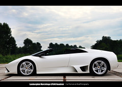 LP 640 R (Thomas van Rooij) Tags: white cars lines car photography amazing rotterdam nikon awesome profile automotive clean exotic nikkor lamborghini supercar ahoy 2010 exotics supercars murcilago roadster 18105 d90 lp640 lp640r maartenmemorial thomasvanrooij