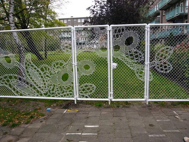 Lace Fence & Kee Klamp