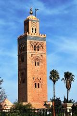 Mezquita Koutoubia 02 34345 (javier1949) Tags: unesco marrakech mezquita marruecos giralda koutoubia patrimoniomundial patrimoniodelahumanidad sigloxii almohade abdalmumin laciudadroja mezquitadeloslibreros