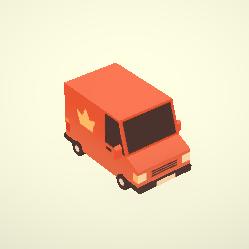 Postal Van 02