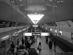 subway (jun.skywalker (enishi hand made cyclecap)) Tags: bw japan subway osaka