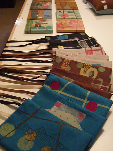 Tiles and Hispter Bags Ready to Ship by Angelia*A