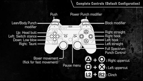 Fight Night Champion for PS3 - Controls