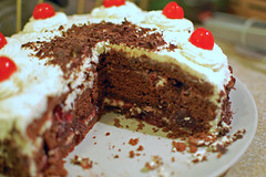 Innards (su-lin) Tags: food cake cherry dessert blackforest schwartzwalder kirschtorte