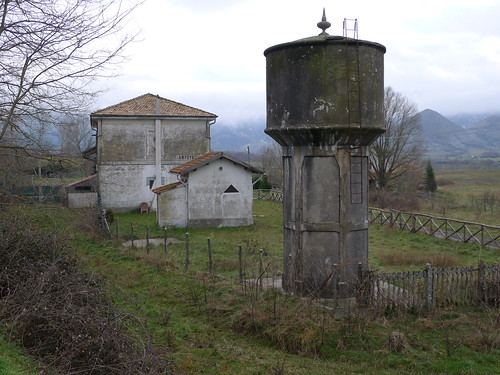 Stazione Campotenese - Ferrovia Calabro Lucana