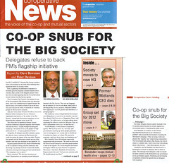 Co-operative News front page