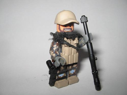 Custom minifig Archer custom minifigure sniper