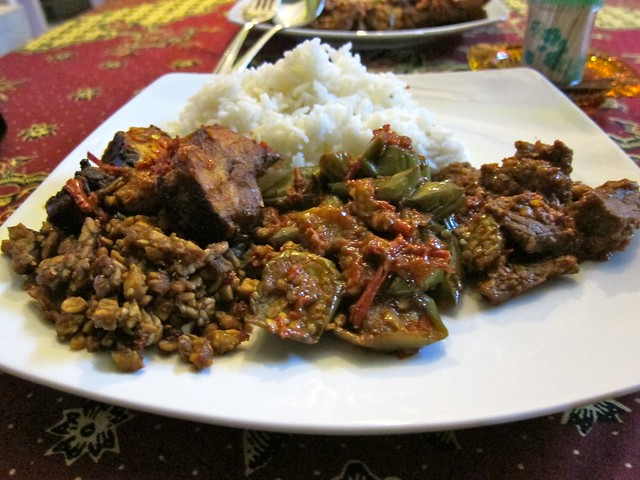 Spicy Javanese Food