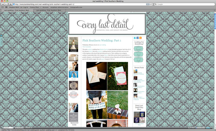 Image of Featured:  Every Last Detail Blog