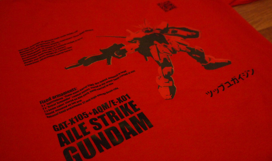 Aile Strike Gundam Tee