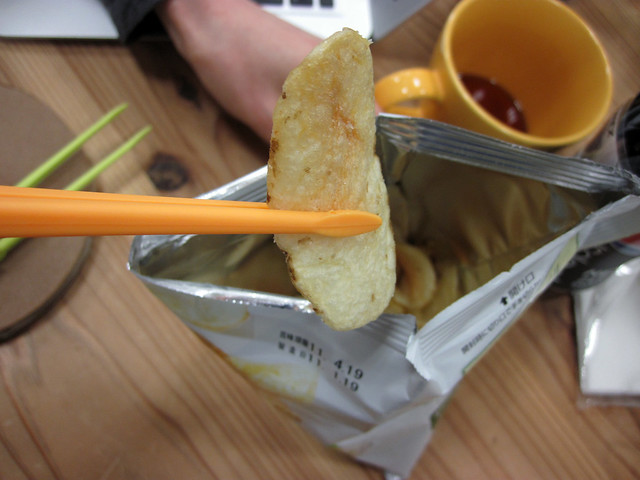 Potato Chips Tongs