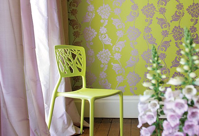Anna-French-Limegreen-wallpaper