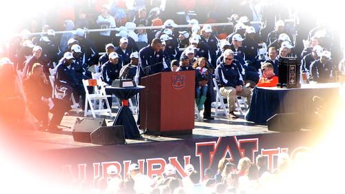 Auburn National championship celebration 2010