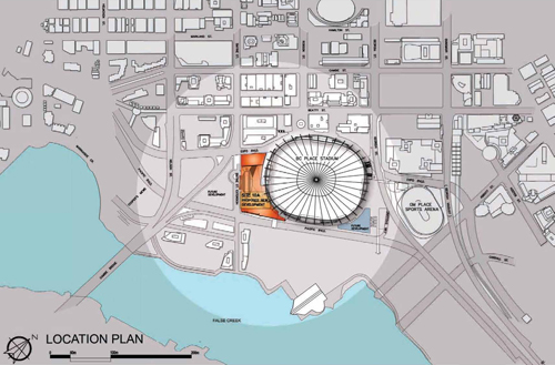 Proposed Vancouver mega-casino