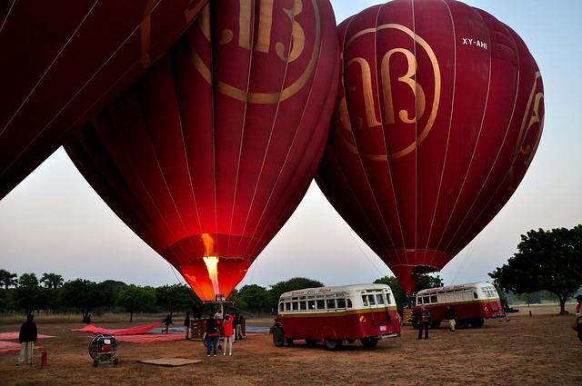 kinh khí cầu Bagan
