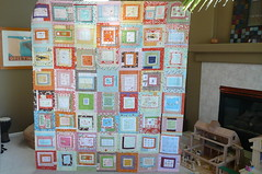 Munki in the middle quilt top (janssendesigns) Tags: quilt blocks wonky munkimunki heatherross quiltingbee