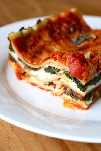 Spicy Kale Lasagna