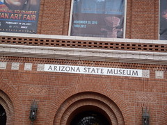 Entrance to Arizona State Museum