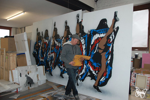 Nick Walker studio visit