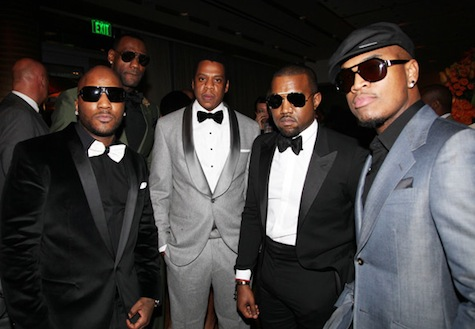 JAY-Z & LEBRON JAMES TWO KINGS PARTY PICTURES