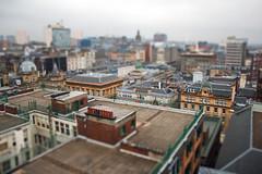 Looking down on Glasgow (Alan J Campbell) Tags: city alan scotland unitedkingdom glasgow centre shift campbell tilt tiltshift