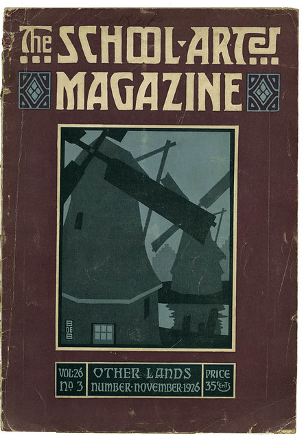 The School Arts Magazine 1926_tatteredandlost