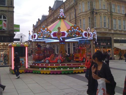 Carousel in Cardiff