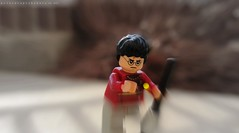 Harry Potter's Got the Snitch! 2/7 (tru if f  fbuu kijoy) Tags: harrypotter legos quidditch seeker snitch goldensnitch canonpowershotsx120is monthlypotterproject
