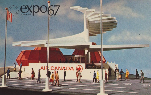 Air Canada Pavilion at Expo '67 - Montreal, Quebec