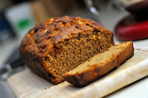 Browned Butter Butterscotch Banana Bread