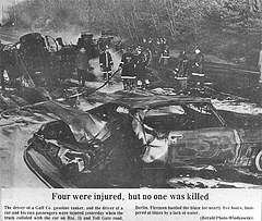 One of the thousands of accidents along the Berlin Turnpike since 1909 (The Berlin Turnpike) Tags: