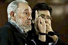 Former Cuban President Fidel Castro, leader of the Communist Party of Cuba, addressed intellectuals on the current international situation. The event took place surrounding the International Book Fair in Havana. by Pan-African News Wire File Photos