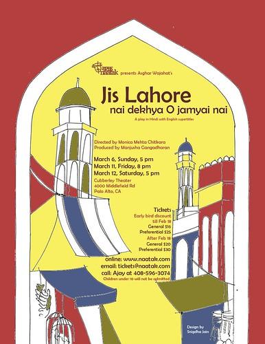 Jis Lahore poster