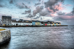 The Claddagh Galway [EXPLORE FRONT PAGE] (Mick h 51) Tags: ireland galway canon river boats eos boat fishing corrib village harbour sigma explore swans frontpage 1020 galwaybay spanisharch explored 450d gettyimagesirelandq1