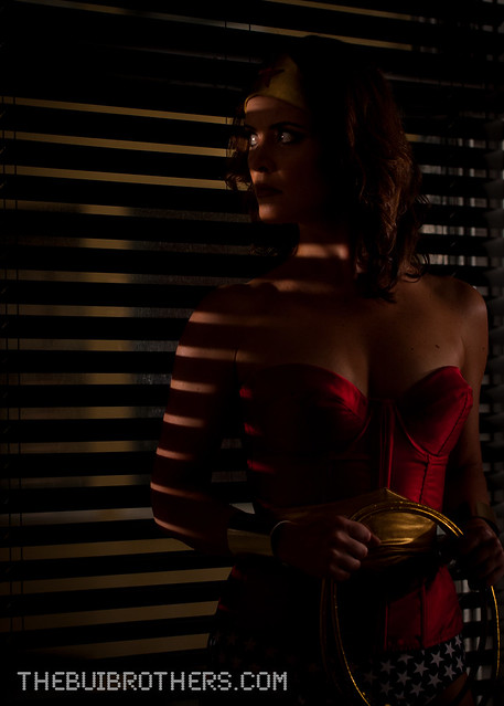 Taryn O'Neill photo as Wonder Woman