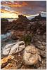 tonnara sunrise (chris frick) Tags: morning sea seascape sunrise dawn wideangle filter lee sicily mediterraneansea sanvitolocapo tonnara golfodicastellamare chrisfrick canoneos5dmark2 075gndhard canon1625mmf28liiusm