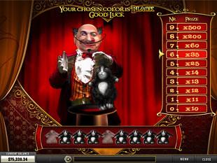 free La Chatte Rouge slot magician bonus 2