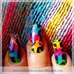 """""""Graffiti"""" Nail Art"""