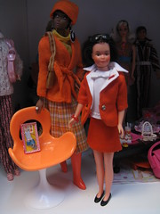 Ginger in Piazza di Spagna outfit reproduction (italiantime) Tags: toys ginger mod dolls barbie skipper mattel