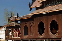 Breaking time (Tati@) Tags: travel school people monastery myanmar mandalay tati bagan annatatti bestcapturesaoi mygearandme