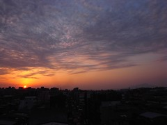 [樓頂] (funkyruru) Tags: life sunset ricoh postprocessing 生活隨拍 樓頂 gx200 ¥í¬¡àh©ç ¼ó³»